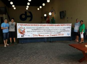 8ª Festa Natalina para crianças da vizinhança: Vila Nova, Paquetá e Centro – Santos   / SP