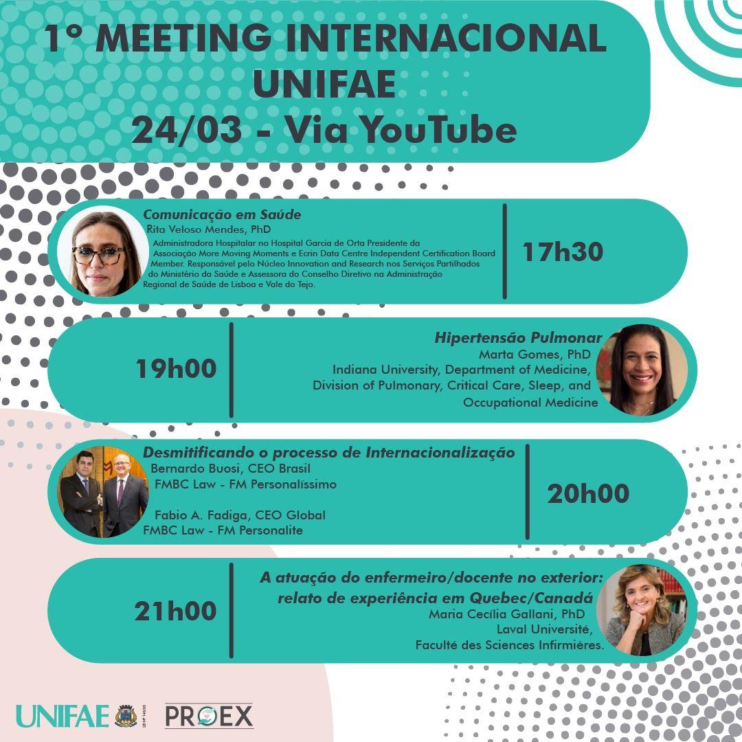1º Meeting Interacional Unifae - Participação da FMBC