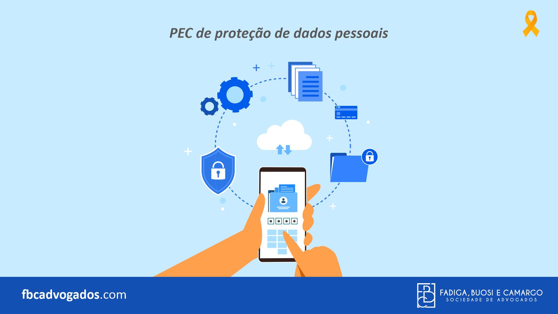 PEC de proteção de dados pessoais