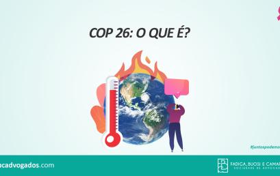 COP 26: O que é?